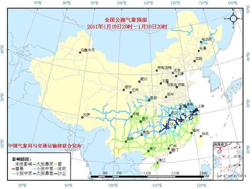 受大到暴雪影响的主要路段有:   京台高速(G3)安徽铜陵—青阳—黄...图片 53678 500x375