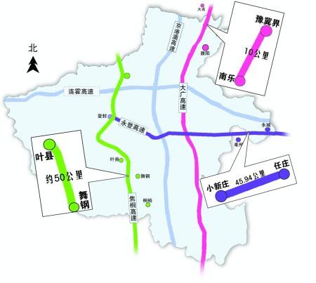 """河南/河南高速""""内连外通""""的蓝图又添浓重一笔:12月26日,叶舞高速..."""