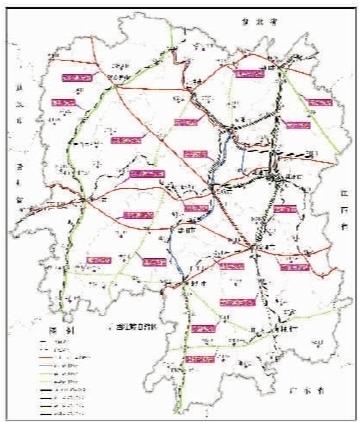 衡东县未来交通规划图