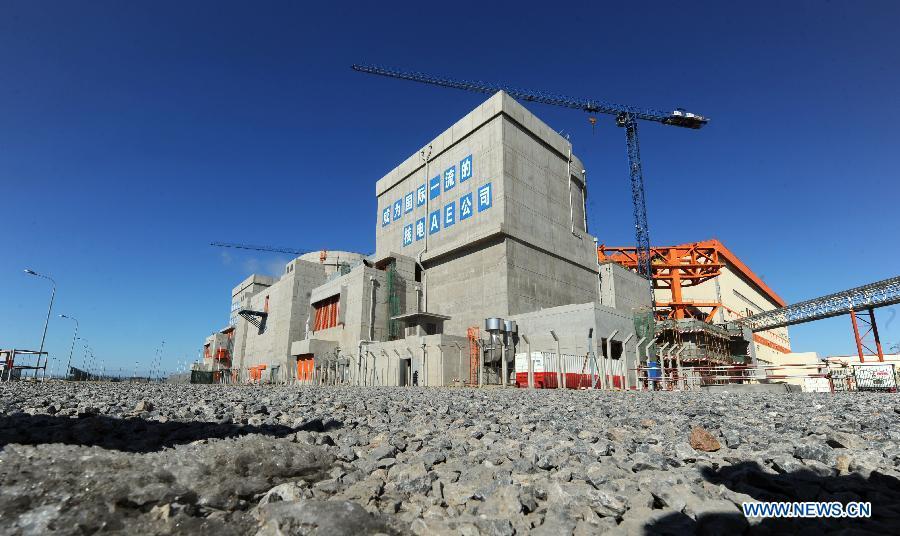 Hongyanhe nuclear power starts test operation in NE China