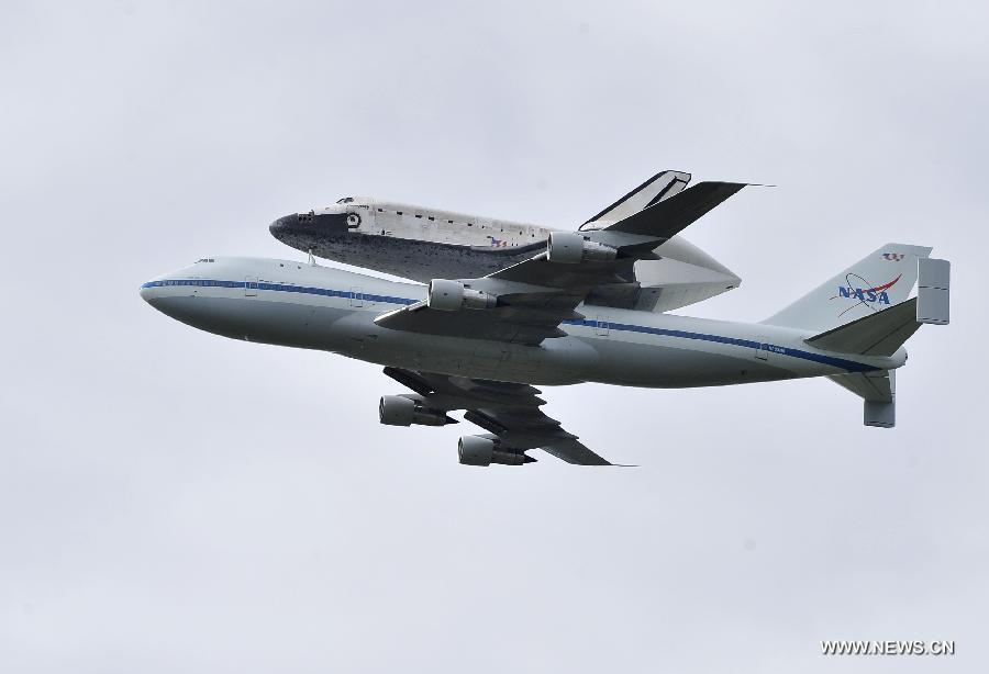 NASA space shuttle Discovery makes final flight