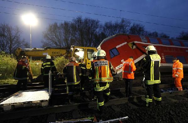 3 killed in train accident in Germany: media
