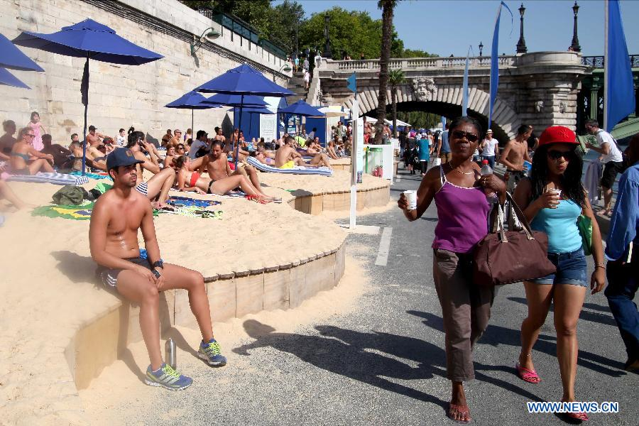 Nice France beach and Promenade Du Paillon