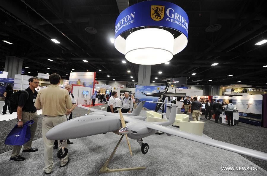 Unmanned Systems 2013 Exhibition kicks off in Washington
