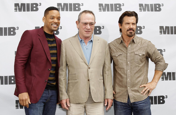 Will Smith promotes 'Men in Black III'