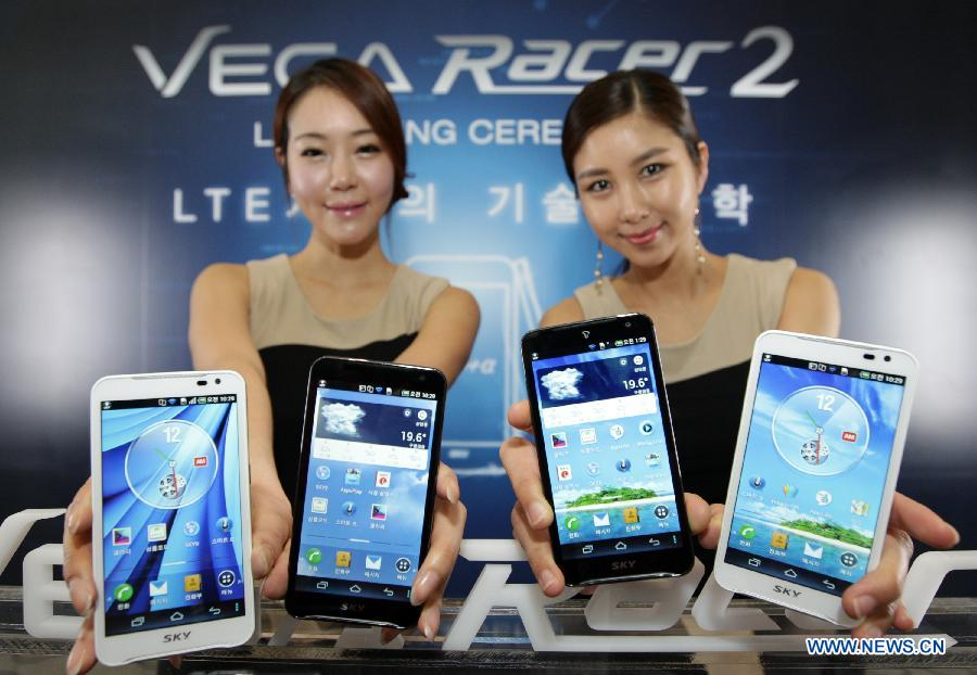Pantech's new LTE smartphone launched in Seoul