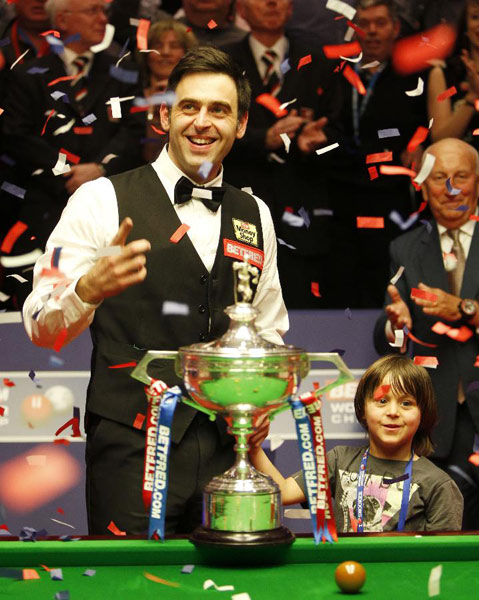 O'Sullivan claims fourth world title