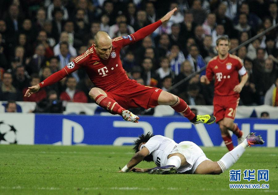Bayern beats Real, to play Chelsea in final
