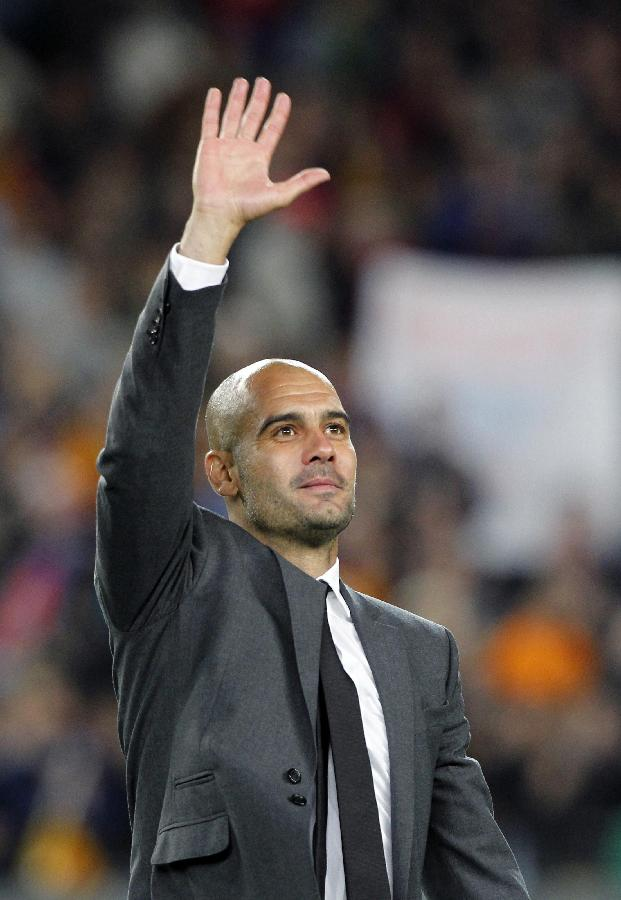 Farewell celebration for Pep Guardiola