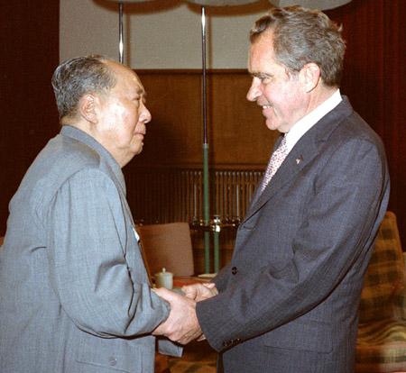 尼克松访华 中美关系取得突破