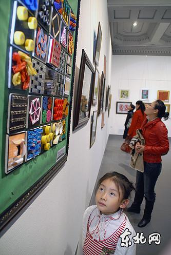 全省幼儿教师美术书法比赛获奖作品展开展