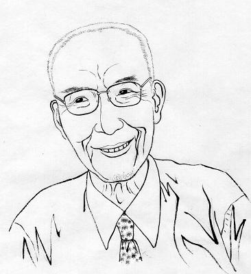 关于鲁迅简笔画