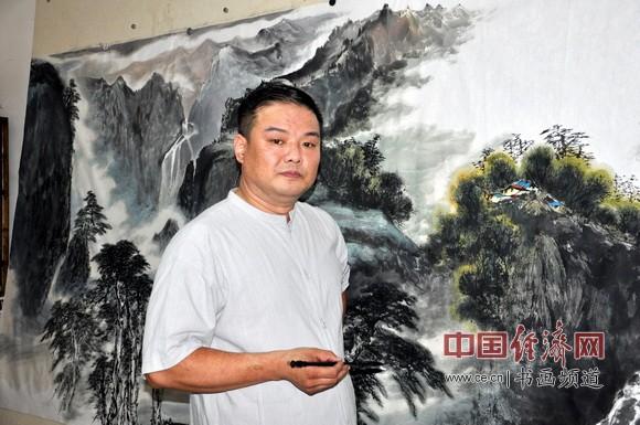 著名国画家孙大威