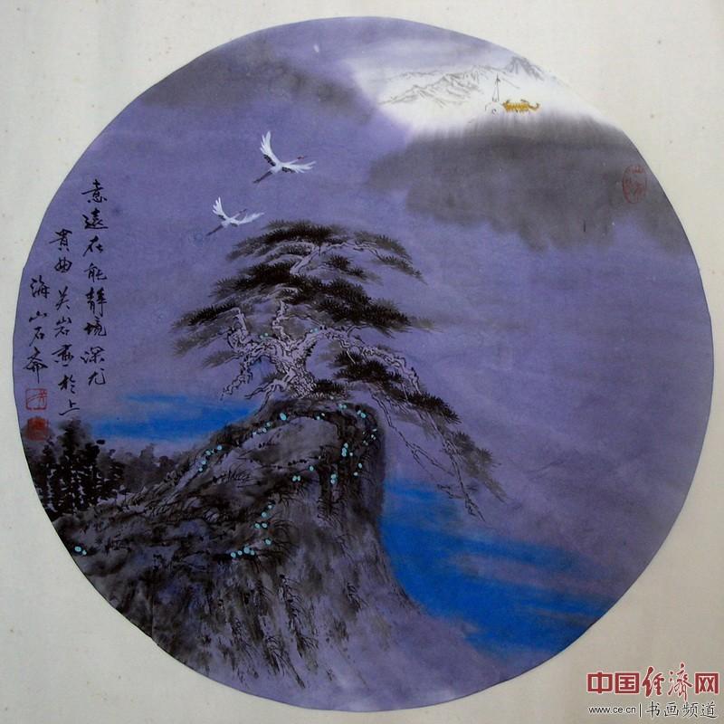 著名画家关岩工笔重彩画作品欣赏(组图)