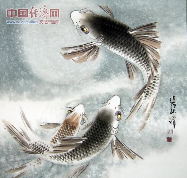 张秋祥国画作品