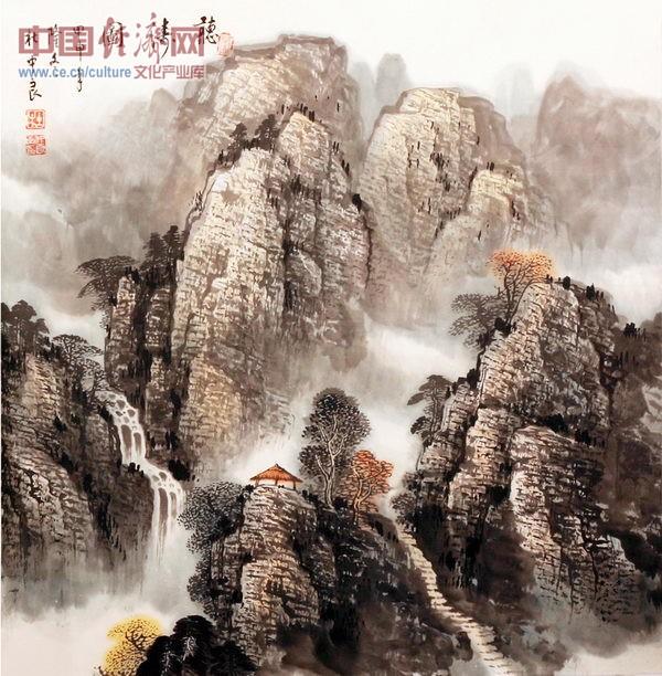 山水帛_中国著名山水画欣赏