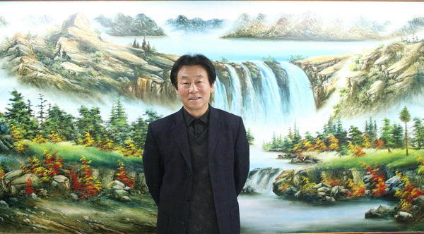中国当代著名书画全才国礼大师杨进才
