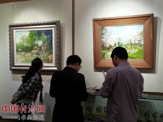 吕洪仁<a href='http://www.hhhiii.com' target='_blank'>油画</a>主题系列展之《春光》在杭州西泠艺苑九天云展厅开展